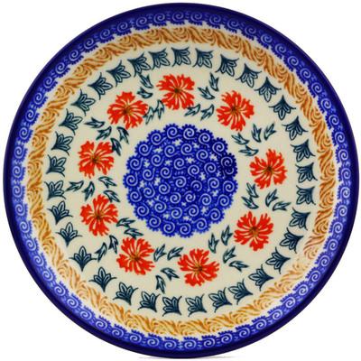 Polish Pottery 7-inch Plate | Boleslawiec Stoneware | Polmedia H7317I