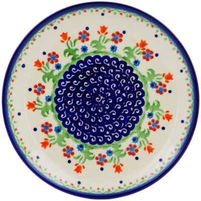 Polish Pottery 7-inch Plate | Boleslawiec Stoneware | Polmedia H0419C