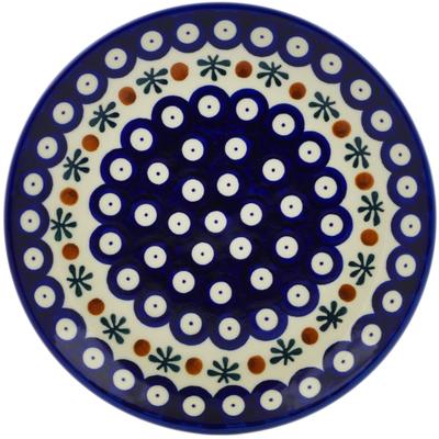 Polish Pottery 7-inch Plate | Boleslawiec Stoneware | Polmedia H0505C