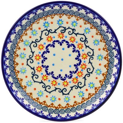 Polish Pottery 7-inch Plate | Boleslawiec Stoneware | Polmedia H0150J