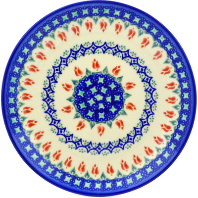 Polish Pottery 7-inch Plate | Boleslawiec Stoneware | Polmedia H7117E