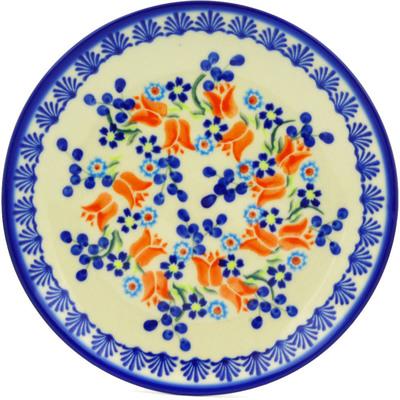 Polish Pottery 7-inch Plate | Boleslawiec Stoneware | Polmedia H7121E