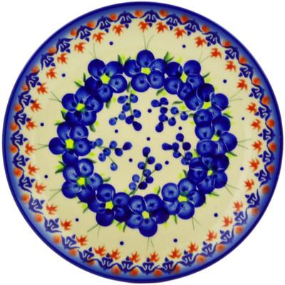 Polish Pottery 7-inch Plate | Boleslawiec Stoneware | Polmedia H5457E