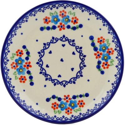 Polish Pottery 7-inch Plate | Boleslawiec Stoneware | Polmedia H5460E