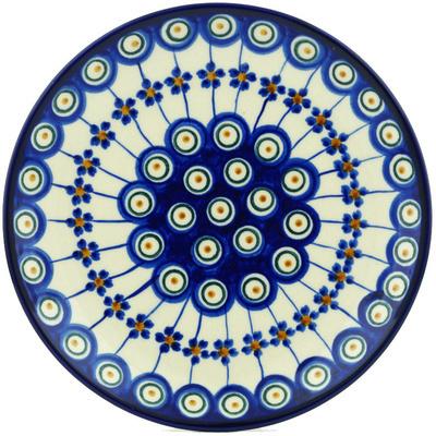 Polish Pottery 7-inch Plate | Boleslawiec Stoneware | Polmedia H7123E