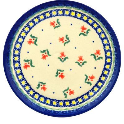 Polish Pottery 7-inch Plate | Boleslawiec Stoneware | Polmedia H0556C