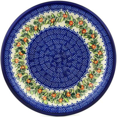 Polish Pottery 10-inch Plate | Boleslawiec Stoneware | Polmedia H0604H