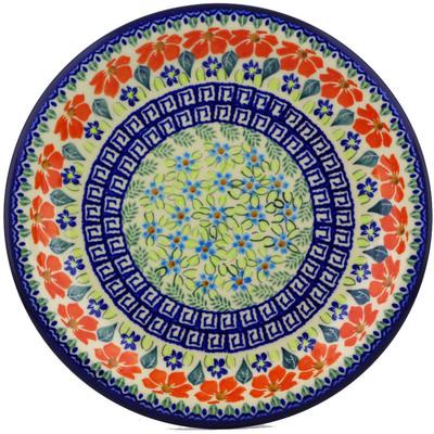 Polish Pottery 10-inch Plate | Boleslawiec Stoneware | Polmedia H7369I