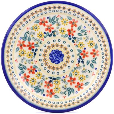 Polish Pottery 10-inch Plate | Boleslawiec Stoneware | Polmedia H2279J