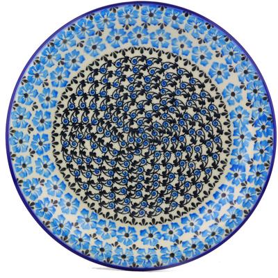 Polish Pottery 10-inch Plate   Boleslawiec Stoneware   Polmedia H0163J