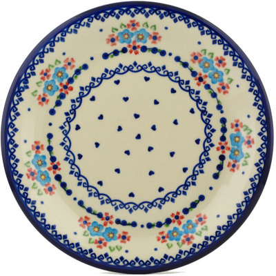 Polish Pottery 10-inch Plate | Boleslawiec Stoneware | Polmedia H5684I
