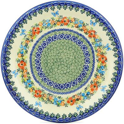 Polish Pottery 11-inch Plate | Boleslawiec Stoneware | Polmedia H4045H