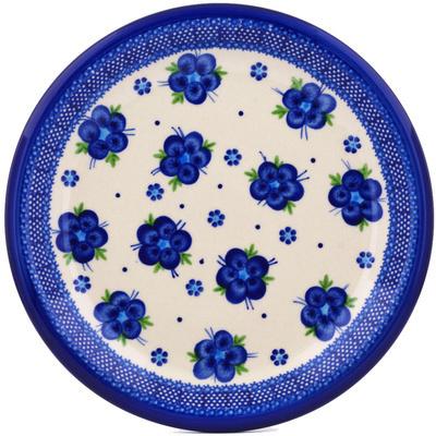 Polish Pottery 11-inch Plate | Boleslawiec Stoneware | Polmedia H7215G