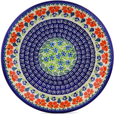 Polish Pottery 11-inch Plate | Boleslawiec Stoneware | Polmedia H9088I