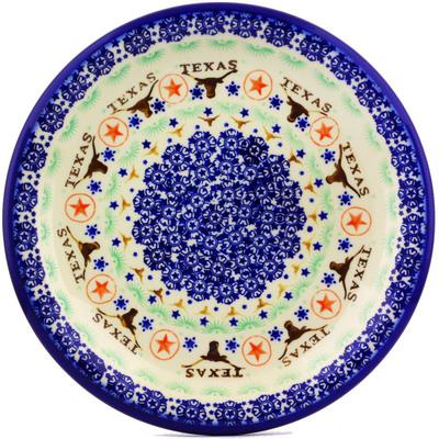 Polish Pottery 11-inch Plate | Boleslawiec Stoneware | Polmedia H7263I