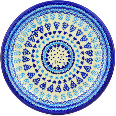 Polish Pottery 11-inch Plate | Boleslawiec Stoneware | Polmedia H2505G