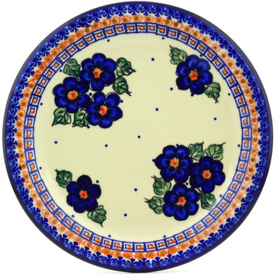 Polish Pottery 11-inch Plate | Boleslawiec Stoneware | Polmedia H2885G