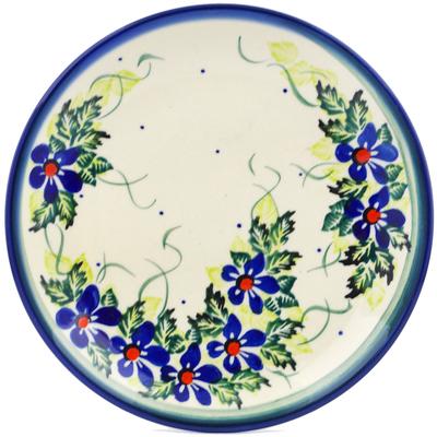 Polish Pottery 7-inch Plate | Boleslawiec Stoneware | Polmedia H1451J