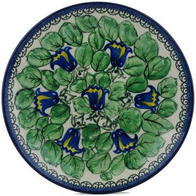 Polish Pottery 10-inch Plate | Boleslawiec Stoneware | Polmedia H0995I