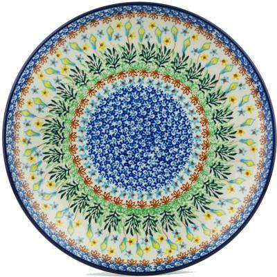 Polish Pottery 10-inch Plate | Boleslawiec Stoneware | Polmedia H1064I