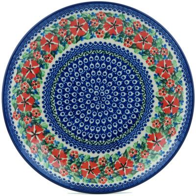 Polish Pottery 10-inch Plate | Boleslawiec Stoneware | Polmedia H8921H
