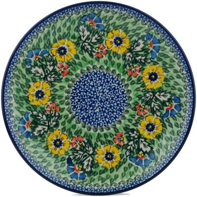 Polish Pottery 10-inch Plate | Boleslawiec Stoneware | Polmedia H2126B
