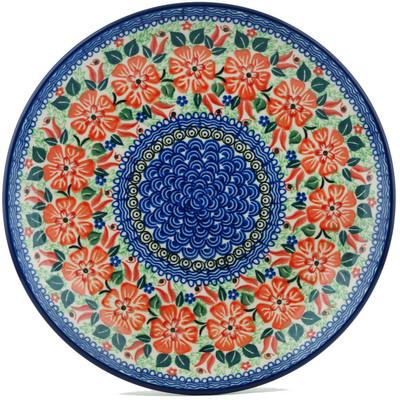 Polish Pottery 10-inch Plate | Boleslawiec Stoneware | Polmedia H1091I