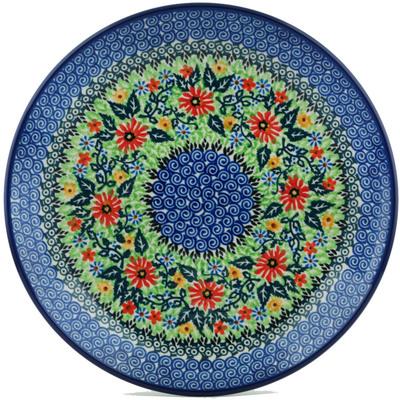 Polish Pottery 10-inch Plate | Boleslawiec Stoneware | Polmedia H1093I