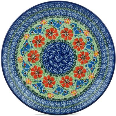 Polish Pottery 10-inch Plate | Boleslawiec Stoneware | Polmedia H1113I