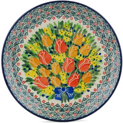 Polish Pottery 10-inch Plate | Boleslawiec Stoneware | Polmedia H1208I