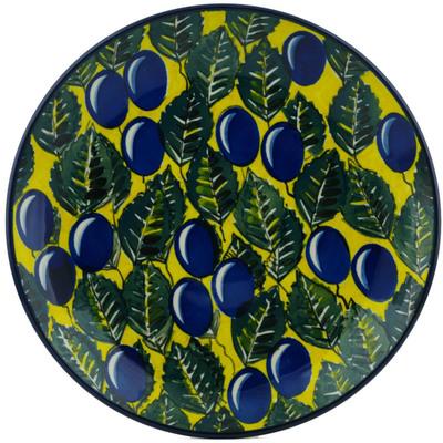 Polish Pottery 10-inch Plate   Boleslawiec Stoneware   Polmedia H1248I