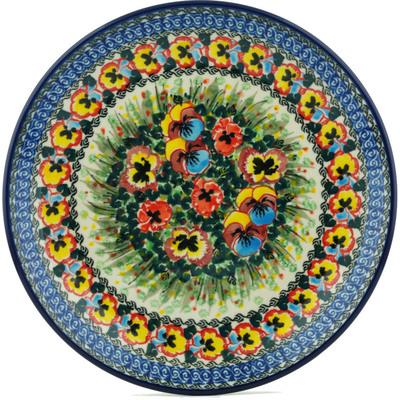 Polish Pottery 10-inch Plate | Boleslawiec Stoneware | Polmedia H1338I
