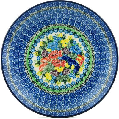 Polish Pottery 10-inch Plate | Boleslawiec Stoneware | Polmedia H1403I
