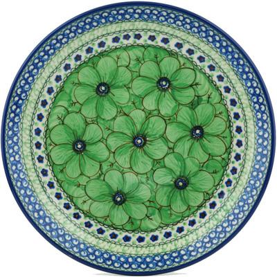 Polish Pottery 10-inch Plate | Boleslawiec Stoneware | Polmedia H7680B