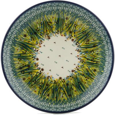 Polish Pottery 10-inch Plate | Boleslawiec Stoneware | Polmedia H1531I