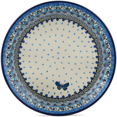 Polish Pottery 10-inch Plate | Boleslawiec Stoneware | Polmedia H1537I