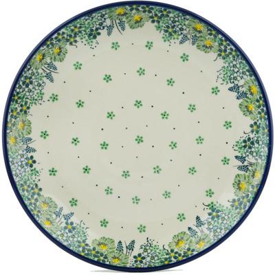 Polish Pottery 10-inch Plate | Boleslawiec Stoneware | Polmedia H1553I