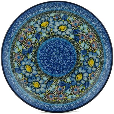 Polish Pottery 10-inch Plate | Boleslawiec Stoneware | Polmedia H0914I