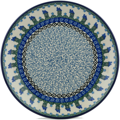 Polish Pottery 10-inch Plate | Boleslawiec Stoneware | Polmedia H1596I