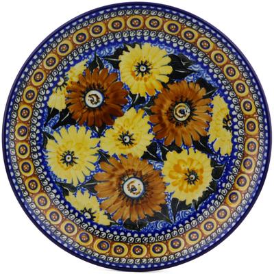 Polish Pottery 10-inch Plate | Boleslawiec Stoneware | Polmedia H2589C