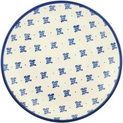 Polish Pottery 10-inch Plate | Boleslawiec Stoneware | Polmedia H2475C