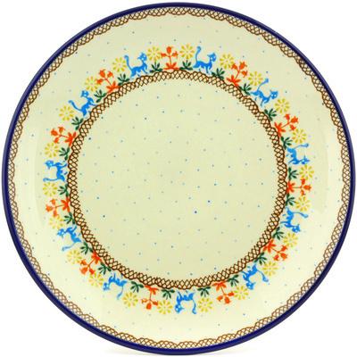 Polish Pottery 10-inch Plate | Boleslawiec Stoneware | Polmedia H6996G