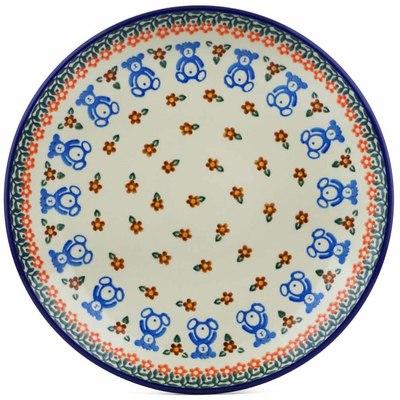 Polish Pottery 10-inch Plate | Boleslawiec Stoneware | Polmedia H5241I