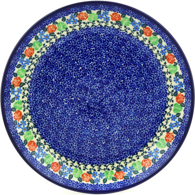Polish Pottery 10-inch Plate | Boleslawiec Stoneware | Polmedia H7098F