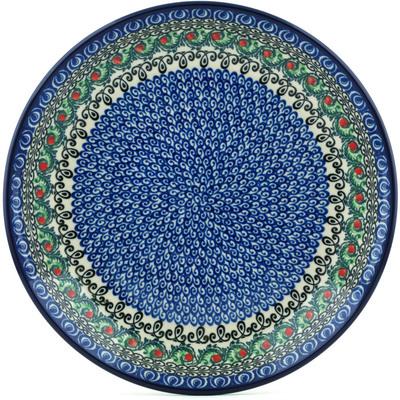 Polish Pottery 10-inch Plate | Boleslawiec Stoneware | Polmedia H1693I