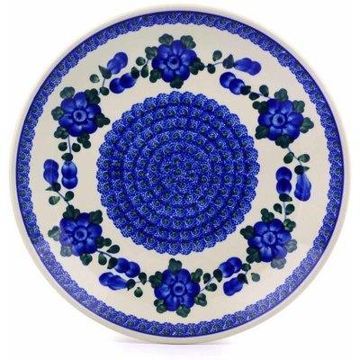 Polish Pottery 10-inch Plate | Boleslawiec Stoneware | Polmedia H3327B