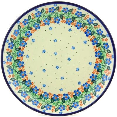 Polish Pottery 10-inch Plate | Boleslawiec Stoneware | Polmedia H0182G