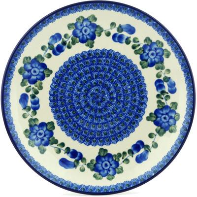 Polish Pottery 10-inch Plate | Boleslawiec Stoneware | Polmedia H4216A