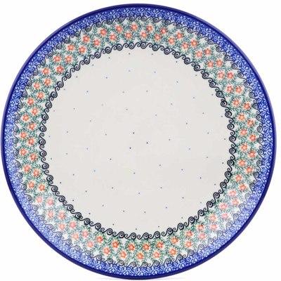 Polish Pottery 10-inch Plate | Boleslawiec Stoneware | Polmedia H5252I