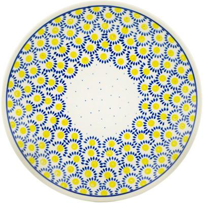 Polish Pottery 10-inch Plate | Boleslawiec Stoneware | Polmedia H2504C